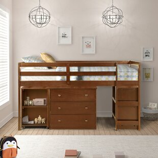 Budget Alkire Twin Low Loft Bed with Drawers by Harriet Bee Reviews (2019) & Buyer's Guide