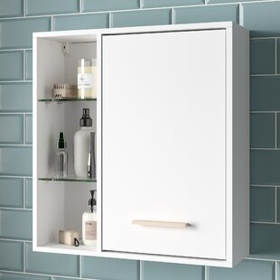 Tompkins 60cm X 64cm Wall Mounted Cabinet By Mikado Living