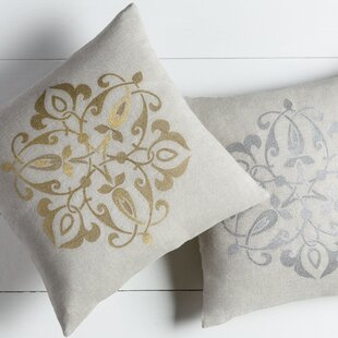 Southall Linen Throw Pillow Cover