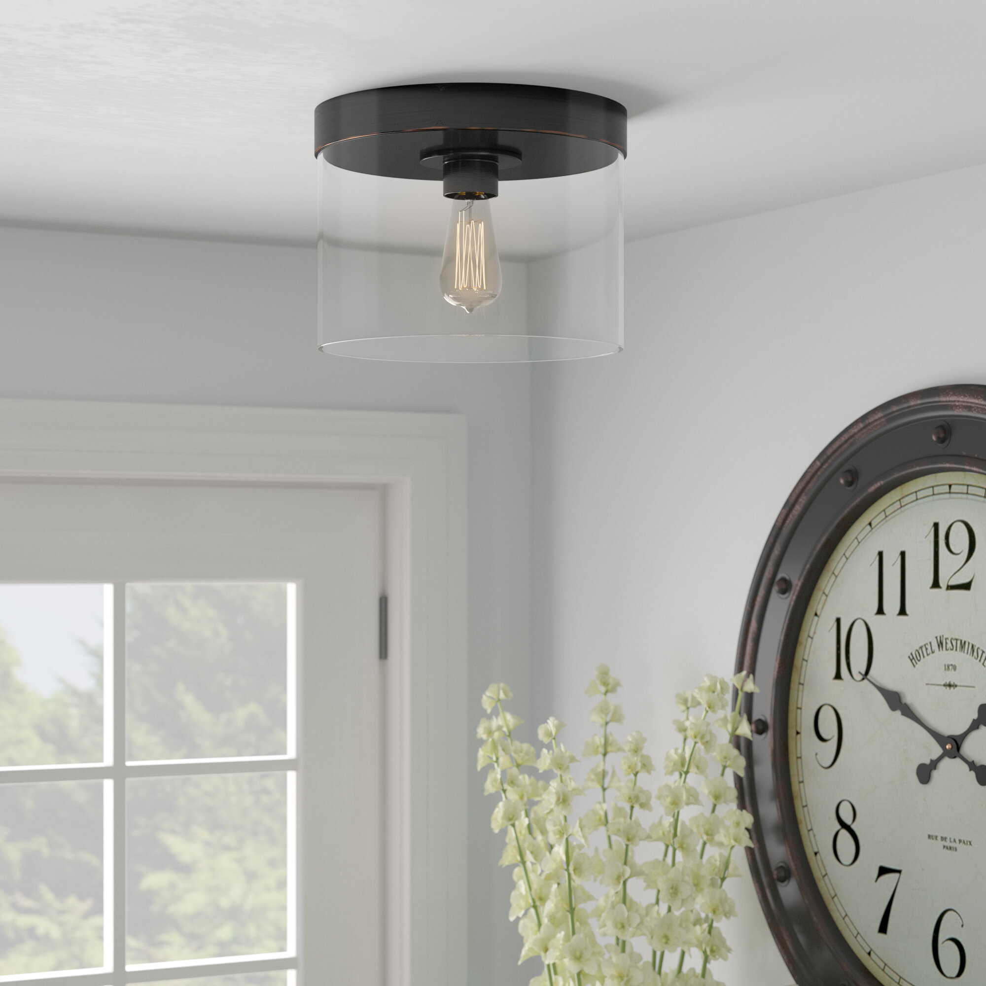 Laurel Foundry Modern Farmhouse Flush Mount Lighting You Ll Love In 2021 Wayfair