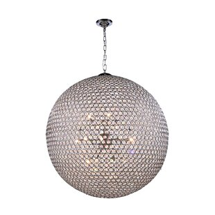 Rosdorf Park Ja 18-Light Crystal Chandelier