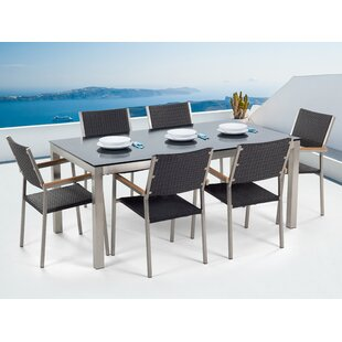 Sharon 6 Seater Dining Set By Sol 72 Outdoor