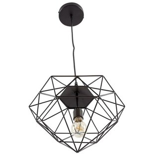 Reviews Diego 1-Light Foyer/Geometric Pendant By Wrought Studio