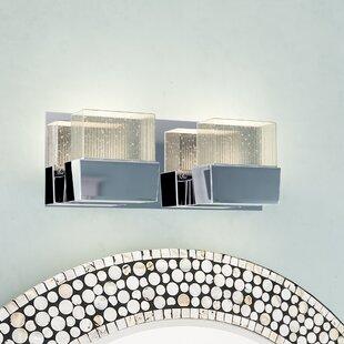 Diphda 2-Light Bath Bar by Orren Ellis