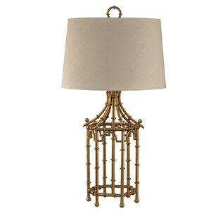 Osborne Bamboo Birdcage 32.25 Table Lamp