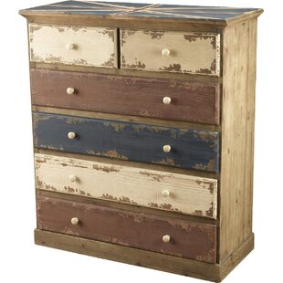 Kinzie 6 Drawer Chest by World Menagerie
