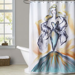 Barre Glamour in the Tropics Single Shower Curtain