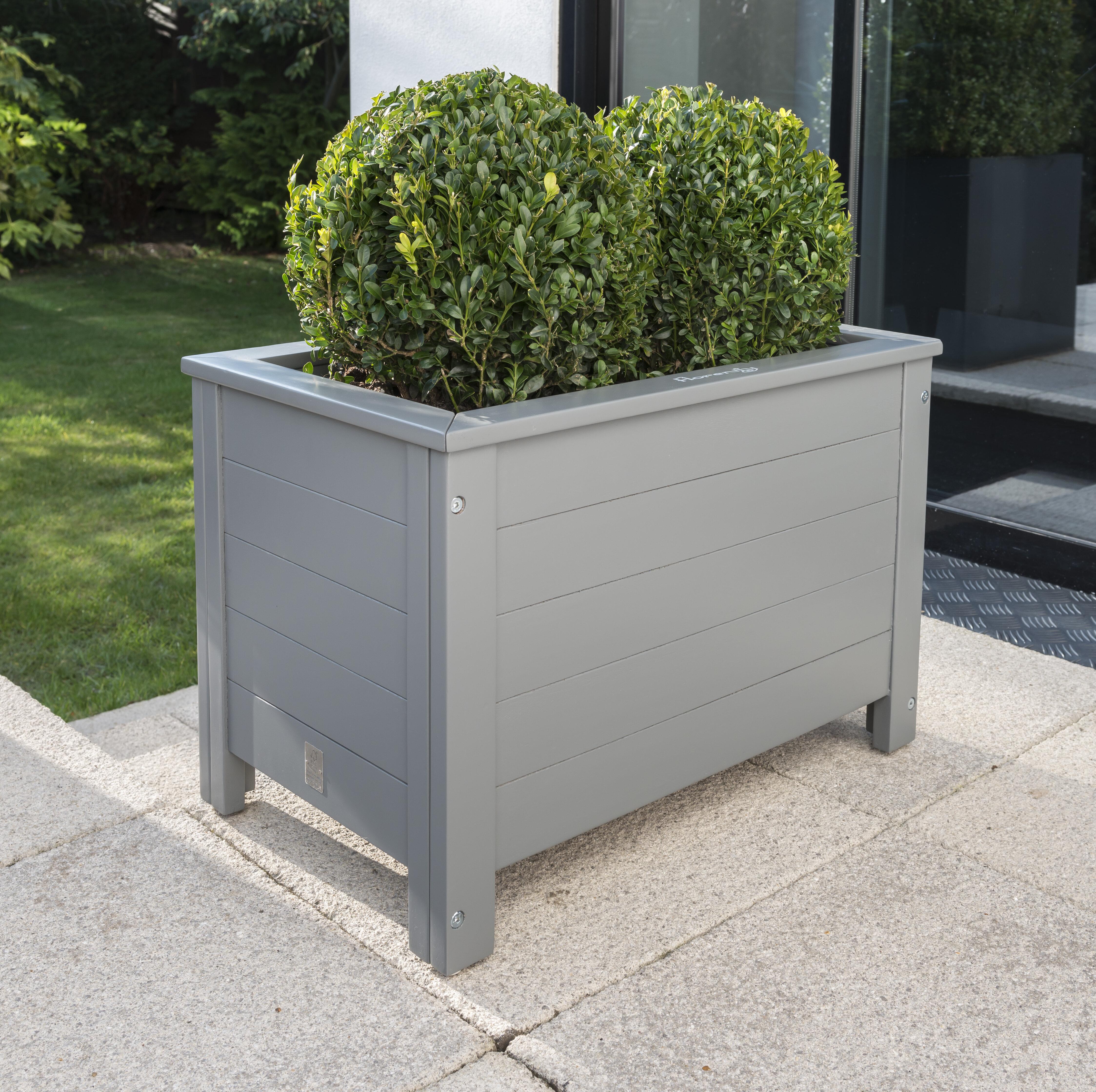 Sol 72 Outdoor Osier Wooden Planter Box