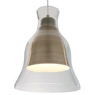 Brayden Studio Jurgensen 1-Light Bell Pendant