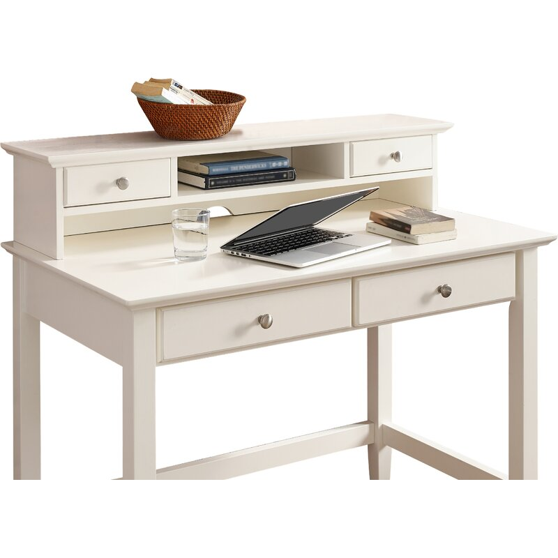 Merveilleux Campbell Writing Desk With Hutch