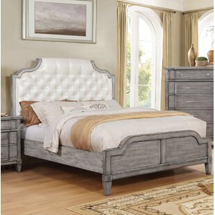 Bernadette Upholstered Panel Bed by Lark Manor Herry Up