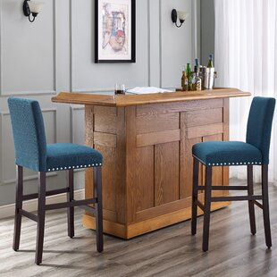 Santillo 30 Bar Stool (Set of 2) Charlton Home