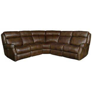 Shop McGwire Leather Reclining Sectional by Bernhardt