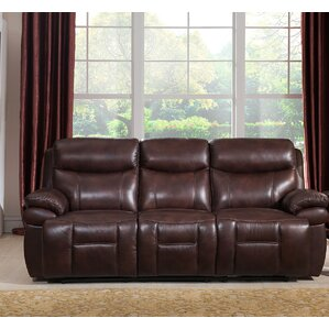 Sanford Reclining Sofa by Amax