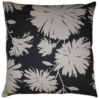 Everly Quinn Jobe Criss Cross Square Pillow Cover Insert Wayfair