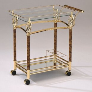 Piantedosi Serving Bar Cart by Astoria Grand
