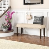 Whipton Upholstered Bench by Loon Peak®