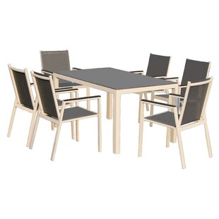 Latitude Run Julianna 7 Piece Dining Set