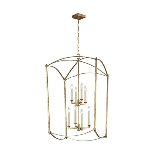 Macon 8-Light Lantern Chandelier by Ophel..