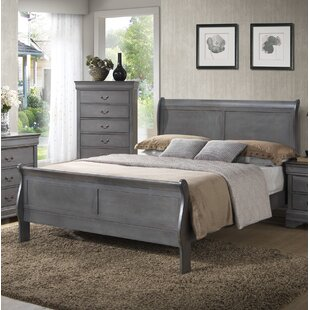 Alcott Hill Crew Sleigh Bed