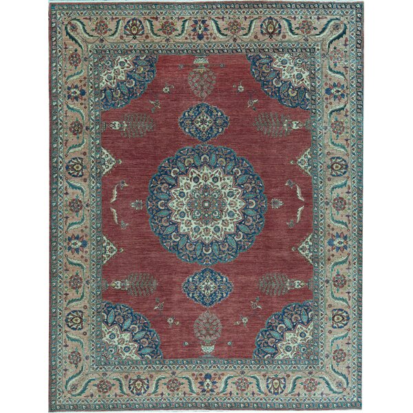 Bokara Rug Co Inc Fine Ziegler Oriental Hand Knotted Wool Red Rust Area Rug Wayfair