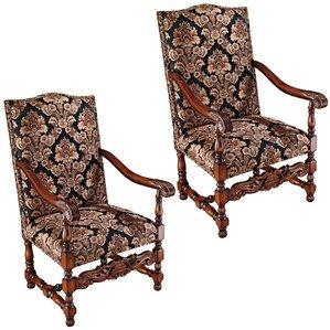 Milton Manor Drawing Room Armchair (Set of 2..