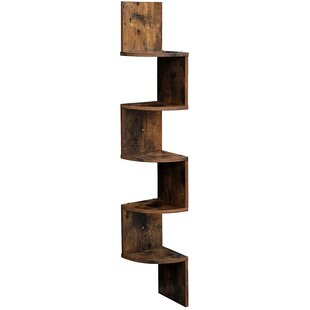 Lundquist Corner Bookcase by 17 Stories