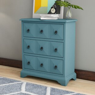 Turquoise 3 Drawer Chest Wayfair