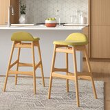 Adriana 31 Bar Stool (Set of 2) by Langley Street™