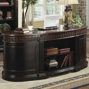 Blanding Solid Wood Executive Desk