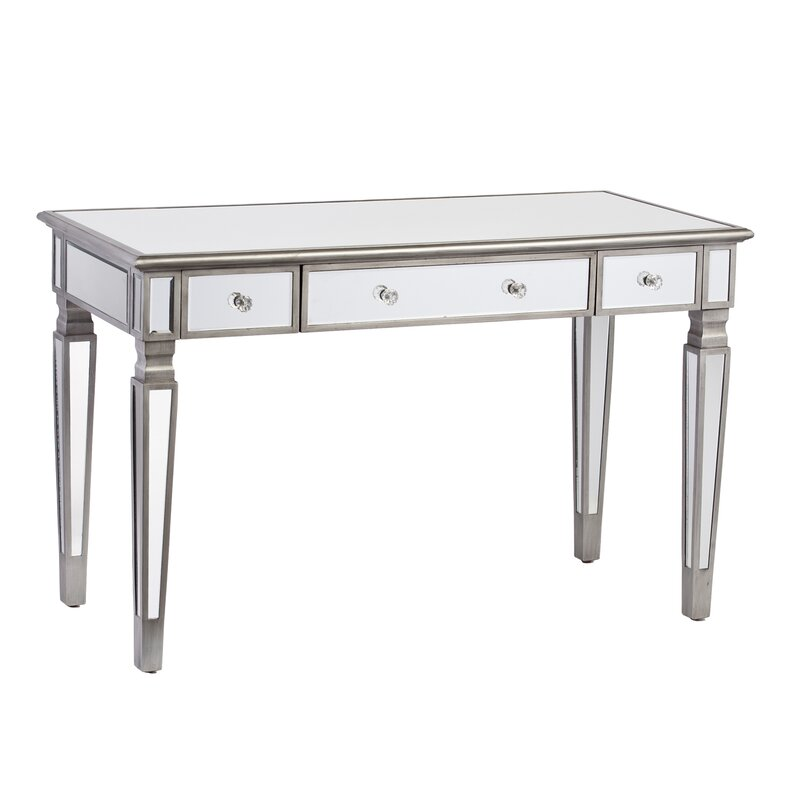 Allie Mirrored Writing Desk