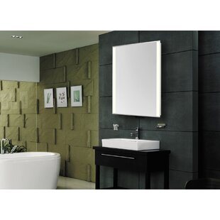 Online Reviews Brick Edge Electric Bathroom/Vanity Mirror By Latitude Run