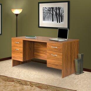 Red Barrel Studio Lewisville Corner Monitor Platform Executive Desk