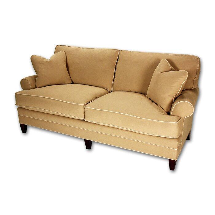 Short Loose Pillow Back Sofa