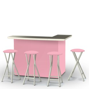 Ice Cream Parlour 7 Piece Bar Set