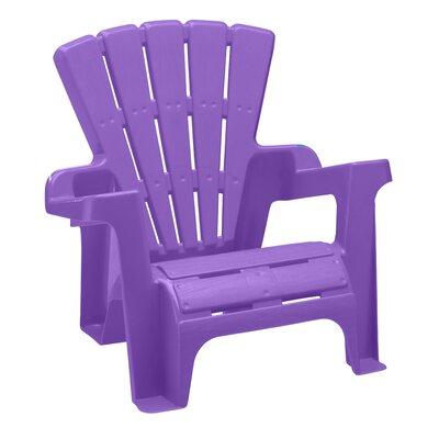 Kriebel Kids Plastic Adirondack Chair Set Zoomie Kids