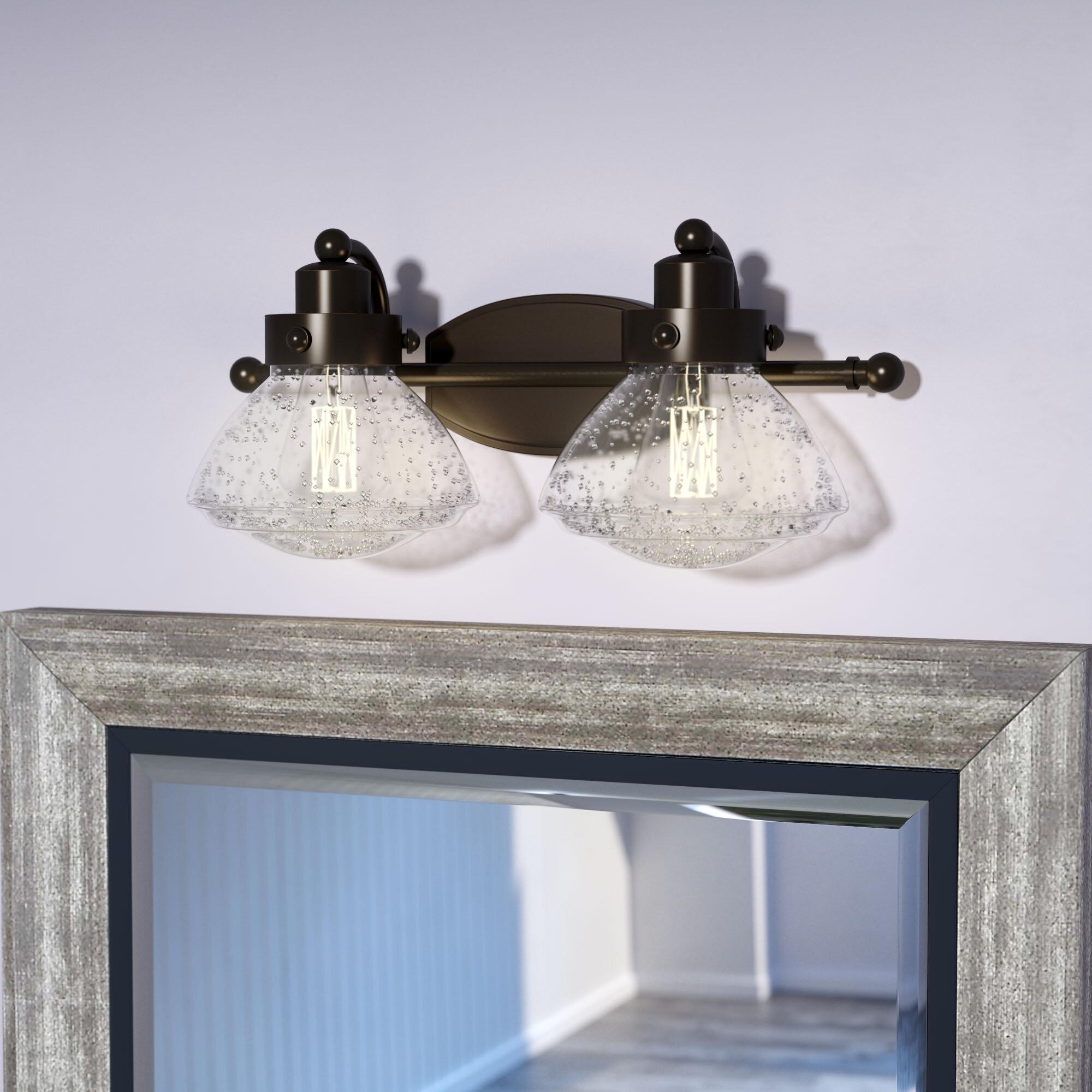 Laurel Foundry Modern Farmhouse Chilton 2-Light Vanity Light ...
