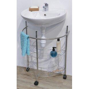 Best Reviews 21.65 W x 26.38 H Bathroom Shelf ByEvideco