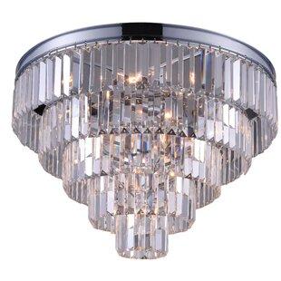 CWI Lighting Weiss 7-Light Flush Mount