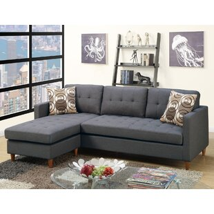 Ebern Designs Haskell Reversible Sectional