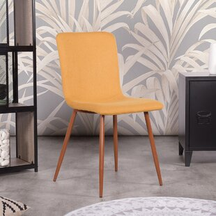 Cuomo MidCentury Velvet Upholstered Dining Chair Set of 4