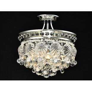 Rosdorf Park Jabari 4-Light Semi Flush Mount