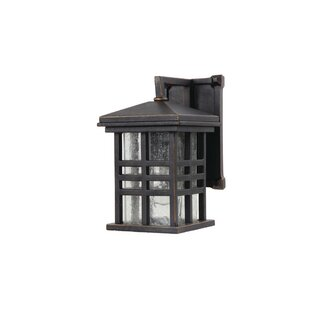 Affordable Price Woodridge 1-Light Outdoor Wall Lantern By Red Barrel Studio