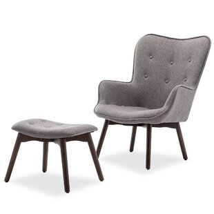 Hallsville Lounge Chair and Ottoman by George Oliver