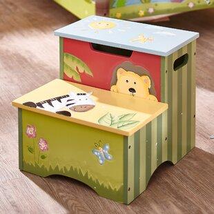 Sunny Safari Kids Step Stool with Storage by Fantasy Fields