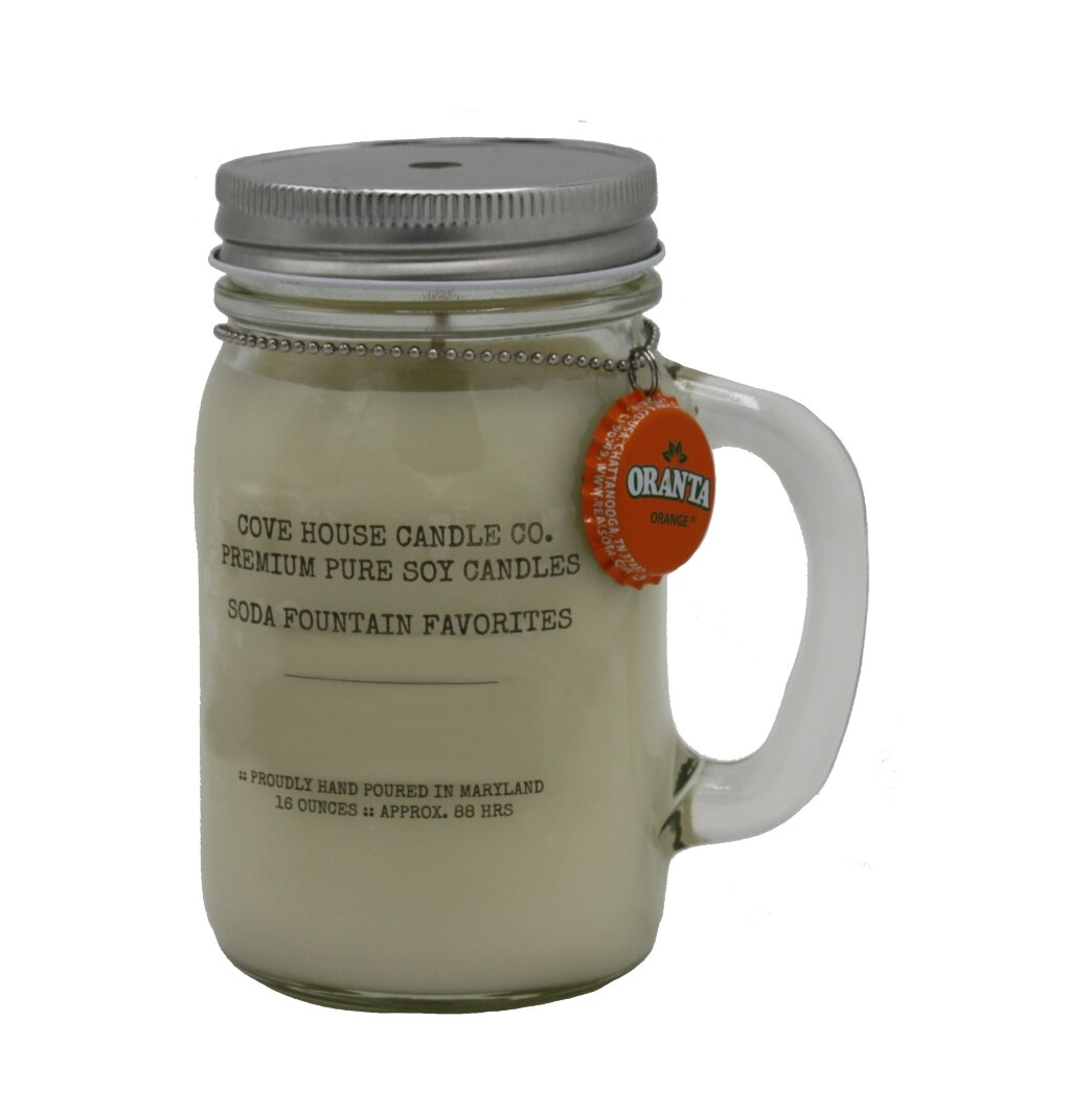 Covehousecandleco All Natural Soy Hazelnut Coffee Scented Jar Candle