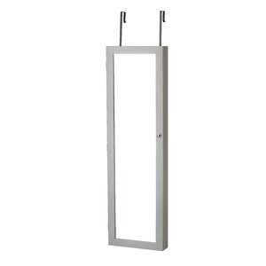 Bohdalice Over The Door Jewelry Armoire with Mirror