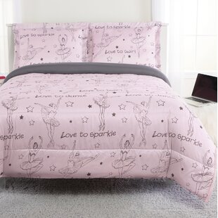 Sawyers Ballerina Reversible Comforter Set