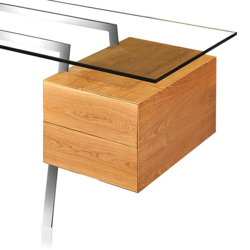 low priced 23e06 22f7c Glass Computer Desk