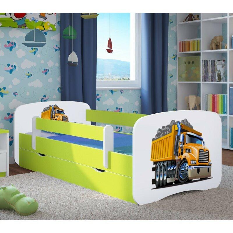 Kocot kids anpassbares schlafzimmer set excavator mit for Schlafzimmer set mit matratze